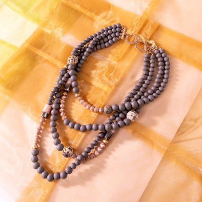 Chloe Beaded Necklace
