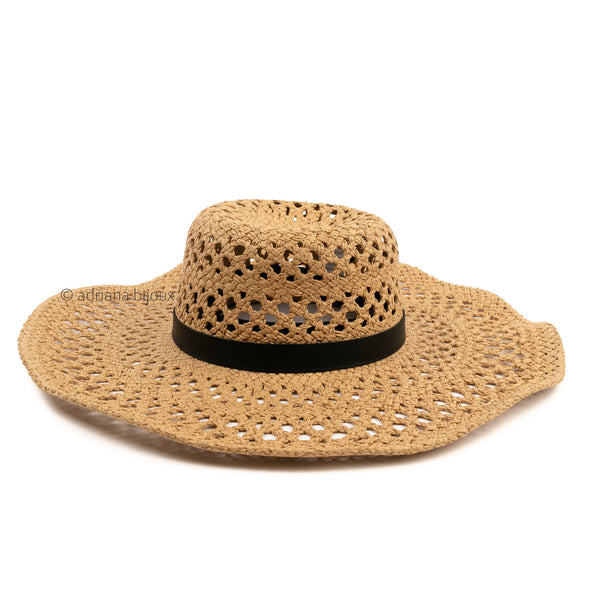 Braided Boho Straw Hat