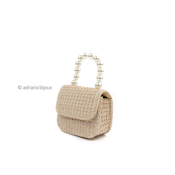 Woven Straw  Mini Bag