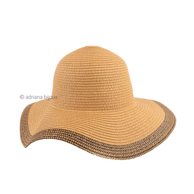 Braided Detail Straw Hat