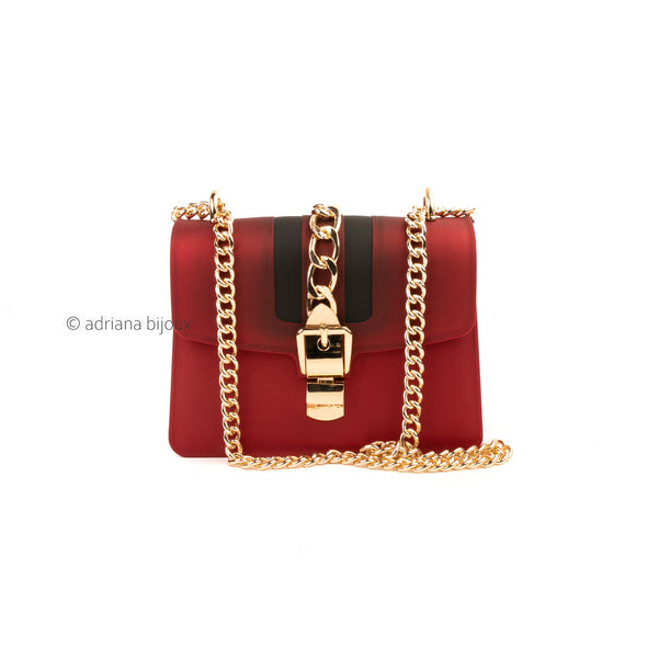 Stripe and Chain Jelly Bag