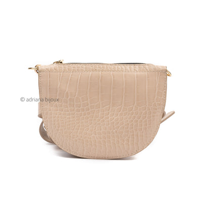 Croc Gold Chain Belt Bag