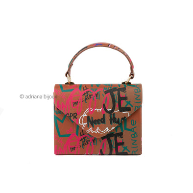 Graffiti Envelope Bag