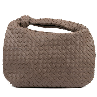 Large Hobo Baguette Woven Bag