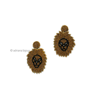 Tribal Beaded Earrings