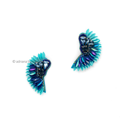 Wings Diamond Earrings