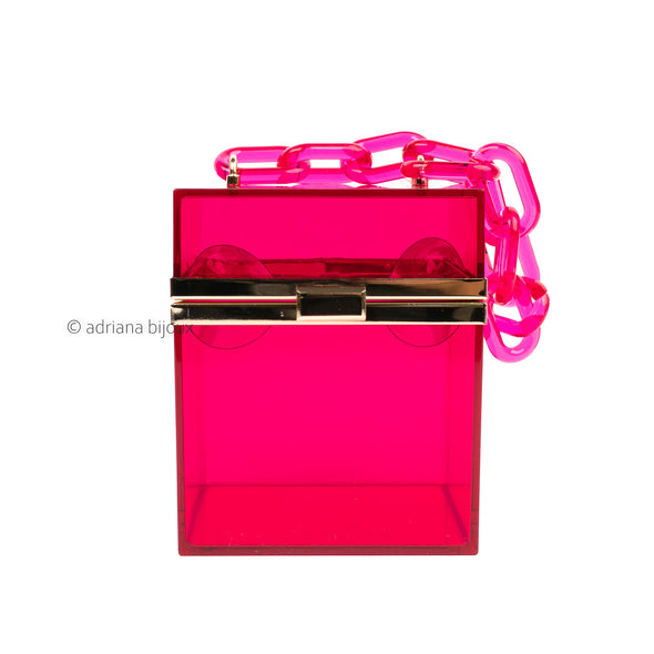 Acrylic Box Clutch