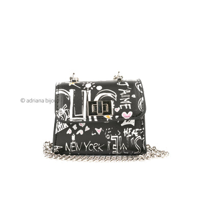New York Graffiti Mini Bag