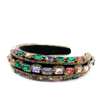 Bejeweled Colorful Headband