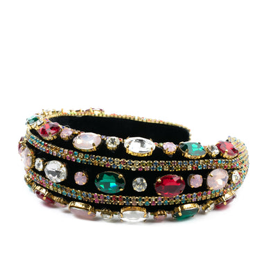Bejeweled Large Padded Headband