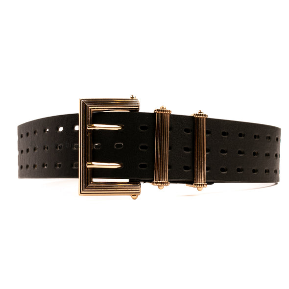 Faux Leather Wide XL Belt