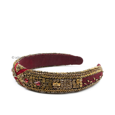 Beaded Antique Headband