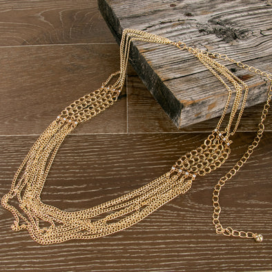 Catalina Glam Chain Belt