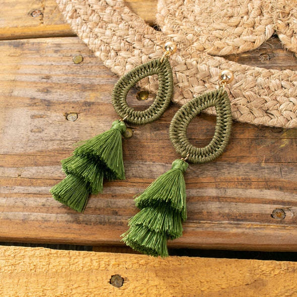 Rosalia Tassel Earrings