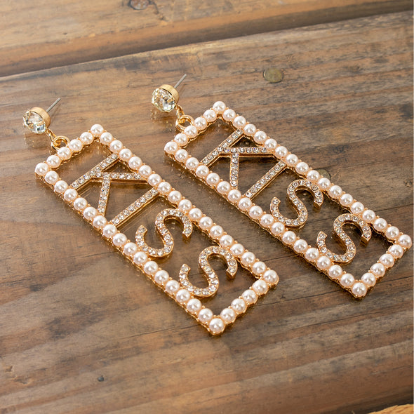 Kiss Pearls Earrings
