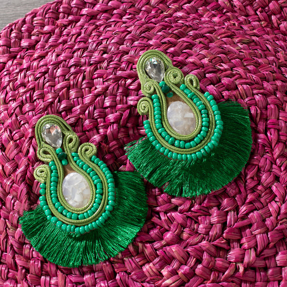Tasnime Tassel Earrings