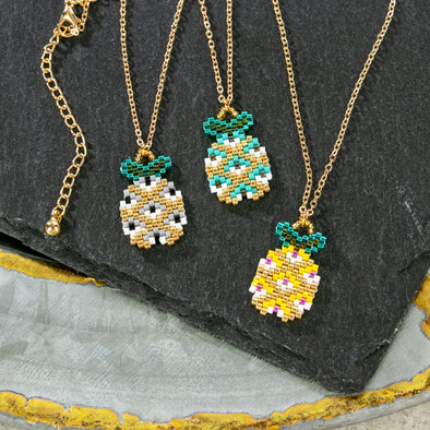 Francesca Pineapple Necklace