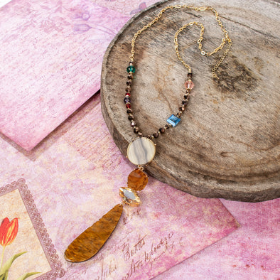Arlette Stones Necklace
