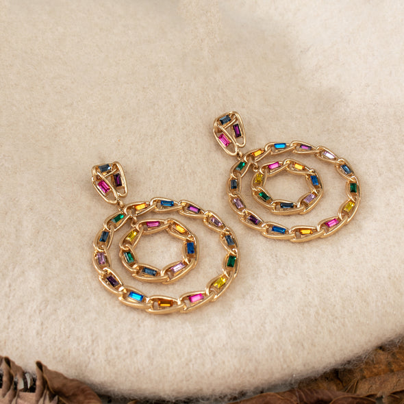 Berthe Rhinestone Earrings