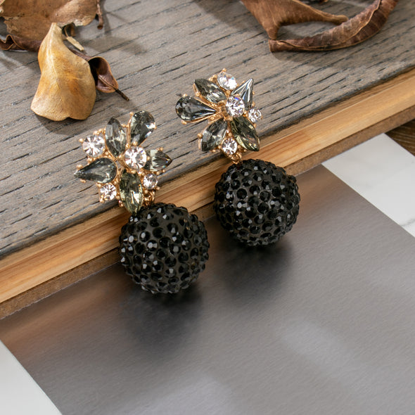 Feodora Crystal Stone Earrings
