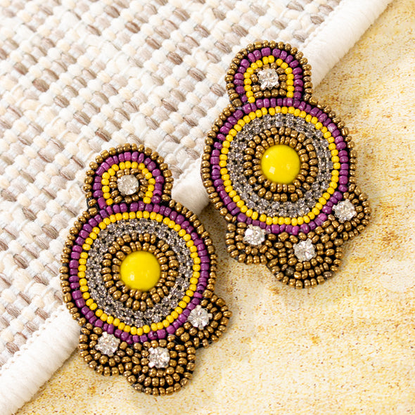 Yasira Multicolor Earrings