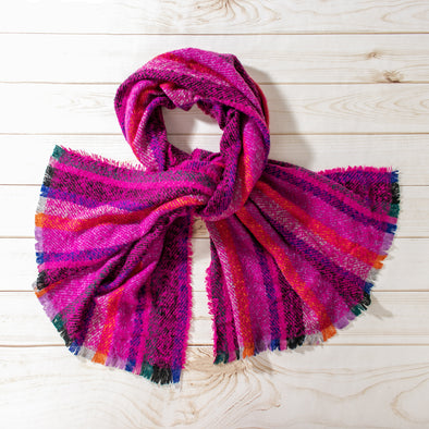 Bianca Colorful Crochet Scarf