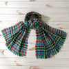 Becka Plaid  Printed Scarf