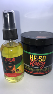 BUNDLE & SAVE: He So Wavy & Beard Oil