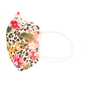 Flower Leo| Protective Face Mask | Adult