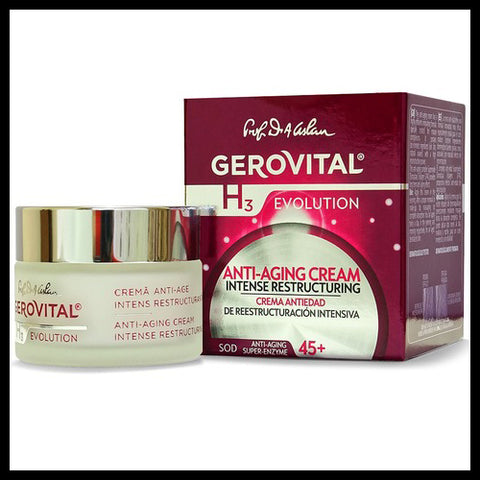 Image of Gerovital | Anti-Aging Cream Intense Restructuring - Mediluxe