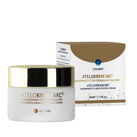Image of Biomimetic Face Cream with Natural Collagen and Liquid Crystal Base - Mediluxe