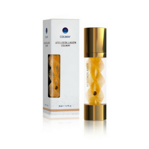 Image of Natural Collagen Face Serum with 24k Gold - Mediluxe