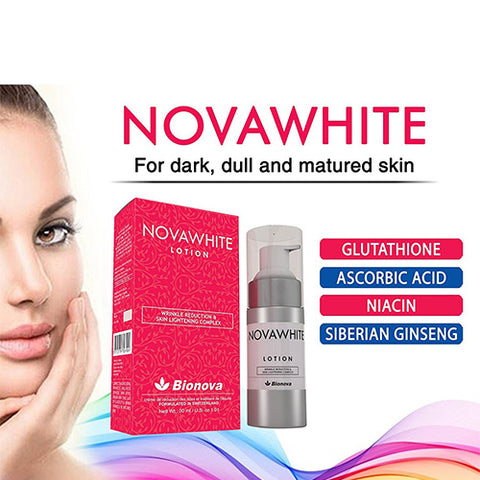 Image of Glutathione Lotion | Novawhite | Whitening - 30 ml - Mediluxe