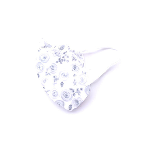 Image of Flower BW | Protective Face Mask | Adult