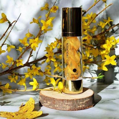 Natural Collagen Face Serum with 24k Gold - Mediluxe