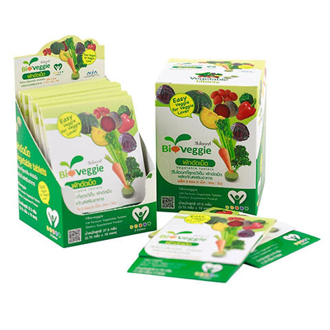 Image of Bioveggie Vegetable Tablets - Mediluxe