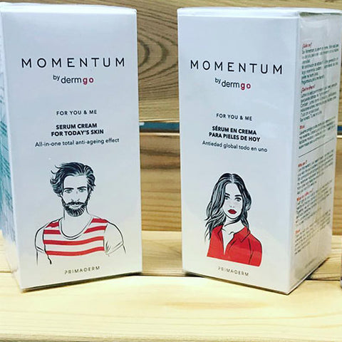 Image of dermGo Momentum | Anti-Aging Effect Face Cream | Unisex - Mediluxe