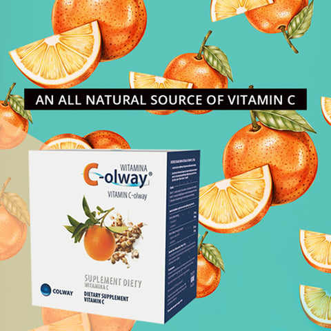 Image of Natural Vitamin C Pills |  Collagen Production | Boosting Immunity - Mediluxe
