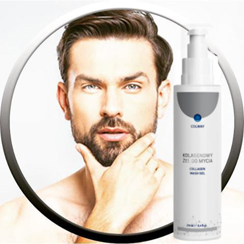 Collagen Wash Gel for Beard | Mediluxe:Online Skincare Boutique
