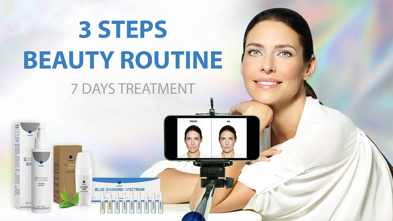 3 Steps Beauty Routine