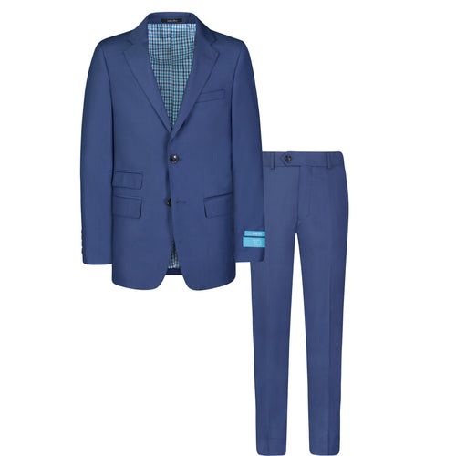 T.O. BOYS FRENCH BLUE SUIT