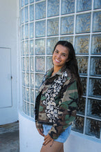 Load image into Gallery viewer, Ariana Grande Camo Jacket