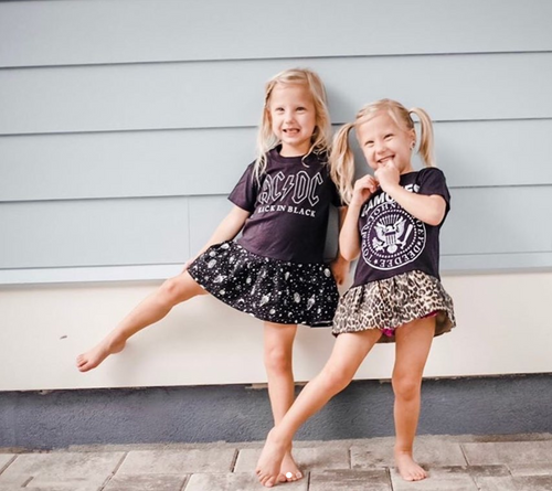 Custom Kids' Band Tee Dresses