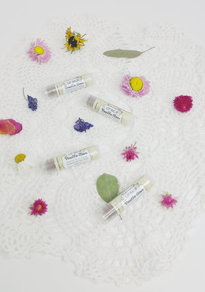 Vanilla Clove Herbal Infused Moisturizing Lip Balm