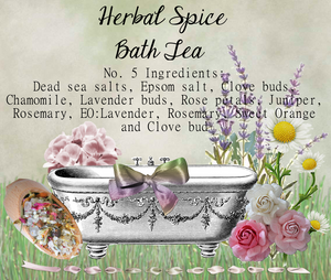 Herbal Bath Tea