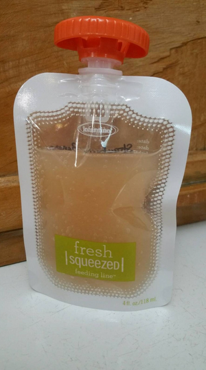 Va Kombucha Tea in 4 oz Squeeze Pouch set of 4