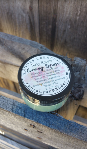 Copy of ALL NATURAL Body Butter - Evening Repose 2 OZ