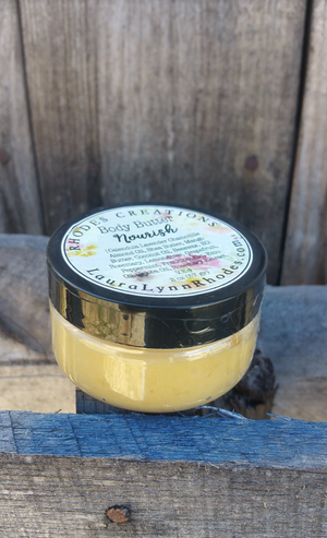 ALL NATURAL Body Butter - Nourish 2 OZ