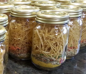 Old Fashioned Soup Mix in Canning Jar*Made to order* Get Well Gift* Housewarming Gift