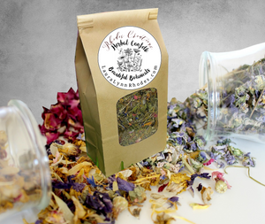 Dried Floral and Herbal Potpourri Wedding Flower Toss